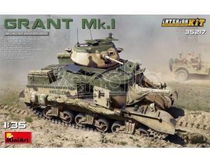 Miniart MIN35217 GRANT MK.I INTERIOR KIT 1:35 Modellino