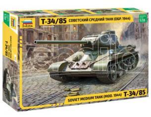 Zvezda Z3687 SOVIET MEDIUM TANK T-34/85 KIT 1:35 Modellino