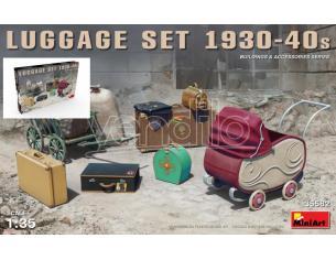 MINIART MIN35582 LUGGAGE SET 1930-40s KIT 1:35 Modellino