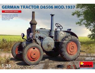 MINIART MIN38029 GERMAN TRACTOR D8506 MOD.1937 KIT 1:35 Modellino