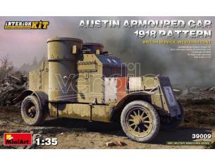 MINIART MIN39009 AUSTIN ARMORED CAR 1918 PATTERN BRITISH SERVICE INTERIOR KIT 1:35 Modellino
