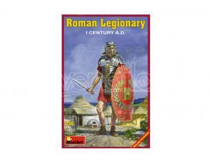 MINIART MIN16005 ROMAN LEGIONARY 1a CENTURY A.D. KIT 1:16 Modellino