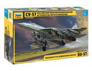 ZVEZDA Z4824 SUCHOI SU-57 KIT 1:48 Modellino