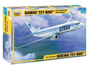 ZVEZDA Z7019 BOEING 737-800 KIT 1:144 Modellino