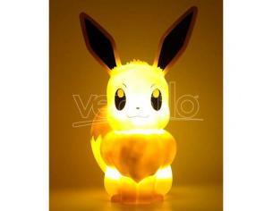 Pokemon Eevee 3d Lampada Led Teknofun
