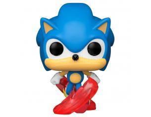 Sonic 30° Anniversario Funko Pop Videogiochi Vinile Figura Running Sonic 9 cm