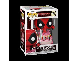 Marvel Deadpool 30° Anniversario Funko Pop Film Vinile Figura Deadpool nella Torta 9cm