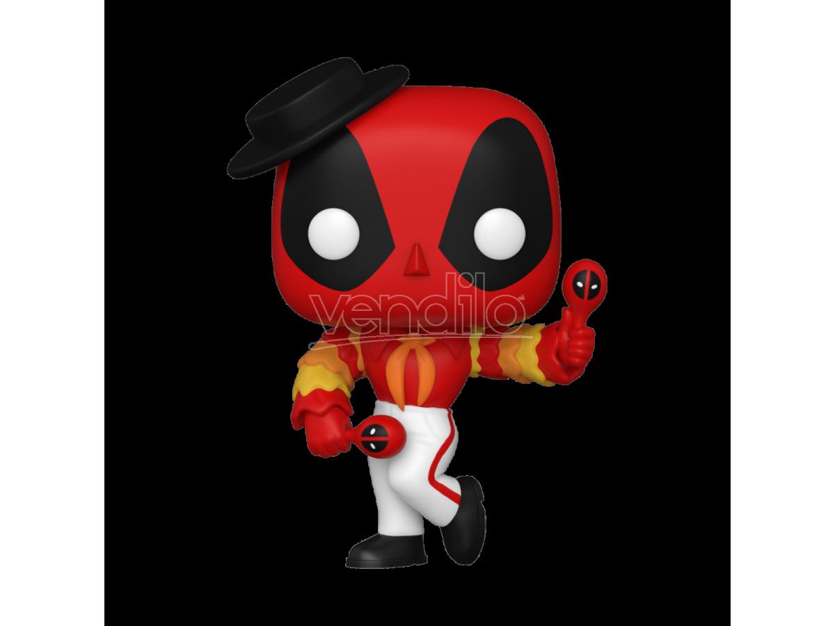 POP Marvel: Deadpool 30th -Flamenco Deadpool 9 cm