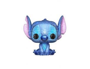 Lilo & Stitch Disney Funko POP Vinile Figura Stitch Seduto con Glitter 9 cm Esclusiva