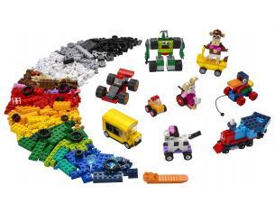LEGO CLASSIC 11014 - MATTONCINI E RUOTE