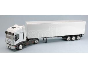New Ray NY15613DSS IVECO STRALIS 40' CONTAINER WHITE 1:43 Modellino