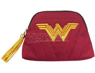 Wonder Woman Justice League Borsa per Cosmetici 18 x 12 x 5 cm Groovy