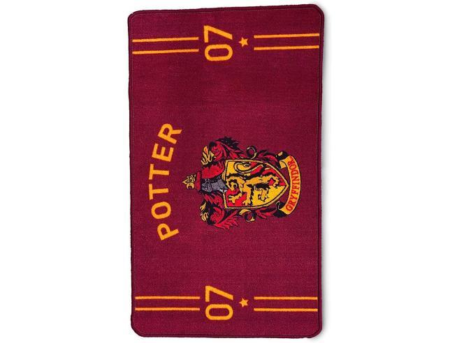 Harry Potter Tappeto da Interno Quidditch Grifondoro Borgogna 75 x 130 cm Groovy