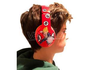 Dragon Ball Z Goku & Vegeta headphones Teknofun