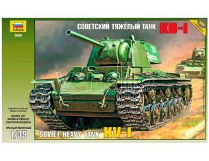 Zvezda Z3539 SOVIET HEAVY TANK KV-1 KIT 1:35 Modellino