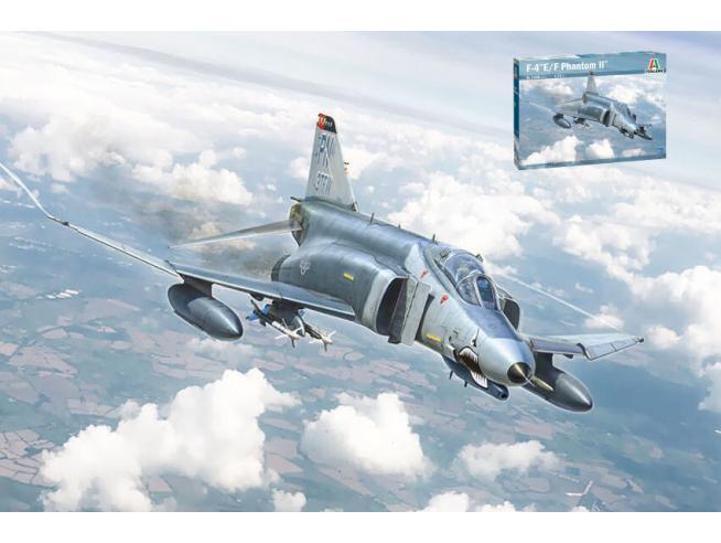 ITALERI IT1448 F-4E/F PHANTOM II KIT 1:72 Modellino