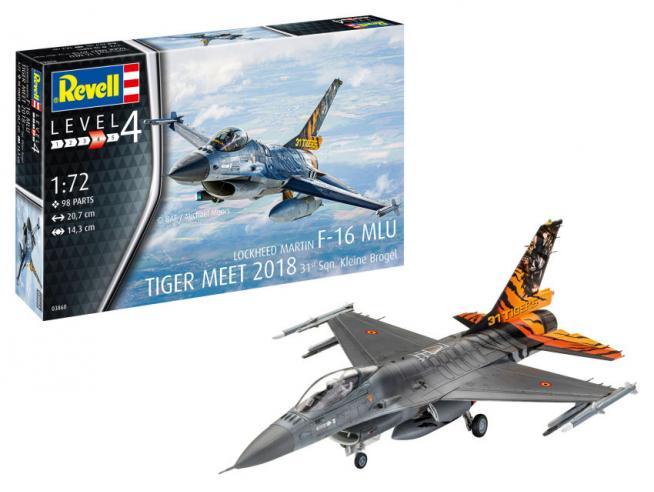 REVELL RV03860 LOCKHEED MARTIN F-16 KIT 1:72 Modellino