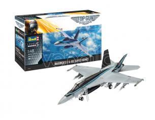 REVELL RV03864 MAVERICK'S F/A-18E SUPER HORNET TOP GUN MOVIE KIT 1:48 Modellino