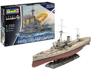 REVELL RV05171 HMS DREADNOUGHT KIT 1:350 Modellino
