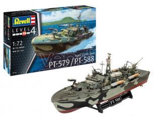 REVELL RV65147 TORPEDO BOAT PT-109 KIT 1:72 Modellino