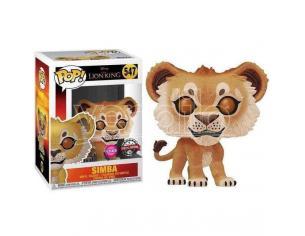 Pop Figura Disney Il Re Leone Simba Flocked Esclusiva Funko