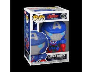 POP Marvel: Marvel Mech - Captain America 9 cm
