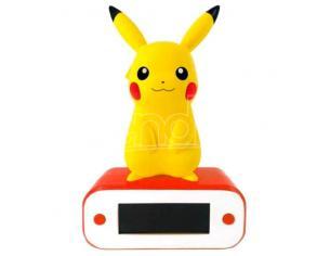 Pokemon Pikachu Lampada Alarm Clock Teknofun