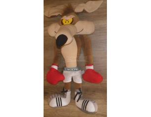 Looney Tunes Peluche Willy il Coyote Pugile Box 28 cm