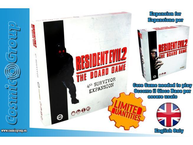 RE2 TBG: 4TH SURVIVOR EXPANSION GIOCO DA TAVOLO STEAMFORGED GAMES