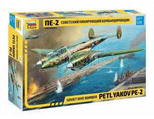 ZVEZDA Z7283 PETLKYAKOV PE-2 KIT 1:72 Modellino