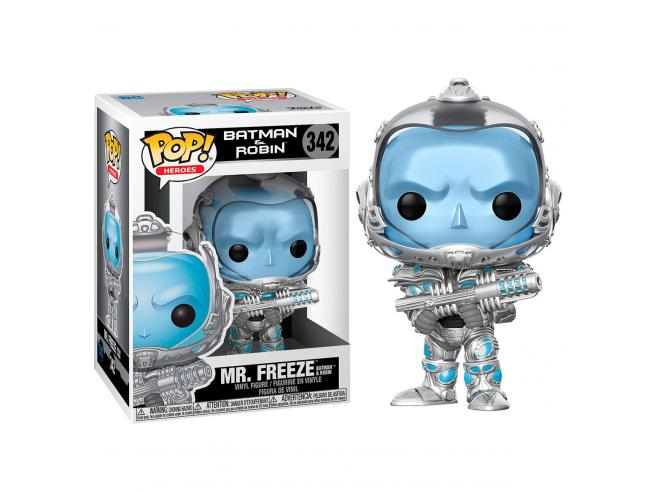 Pop Figura Dc Comics Batman & Robin Mr. Freeze Funko