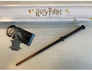 Harry Potter Bacchetta Magica Professoressa Pomona Sprite + Piedistallo Noble Collection