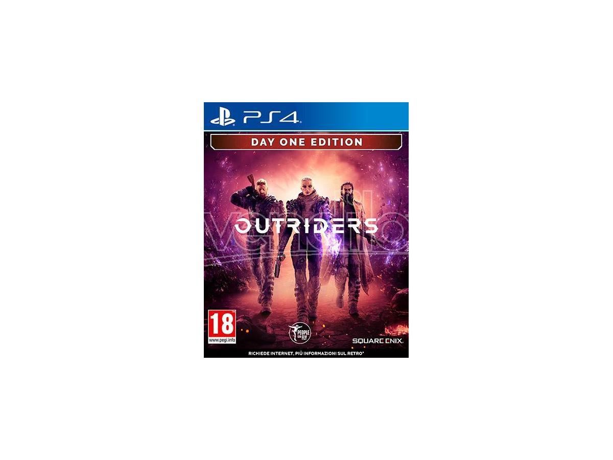 OUTRIDERS - DAY ONE EDITION SPARATUTTO PLAYSTATION 4