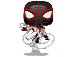 Pop Figura Spiderman Miles Morales - Miles Morales Track Suit Funko