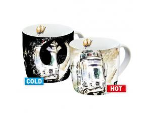 Star Wars IX Heat Change Mugs R2-D2 Case (6) Geda Labels