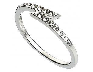 Harry Potter X Swarovski Ring Fulminebolt Uk-size M (sterling Silver) Carat Shop, The