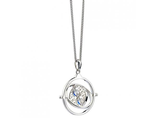 Harry Potter X Swarovski Collana & Ciondolo Giratempo (sterling Silver) Carat Shop, The
