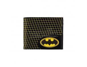 Batman Portafoglio Pieghevole Grid Difuzed