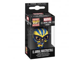 Marvel Luchadores Pocket Pop! Vinile Portachiavis 4 Cm Wolverine Display (12) Funko