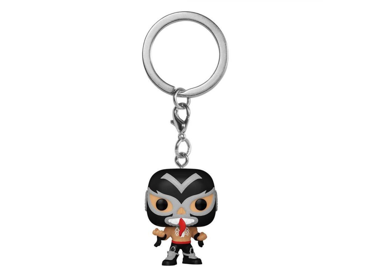 Marvel Luchadores Pocket Pop! Vinile Portachiavis 4 Cm Venom Display (12) Funko
