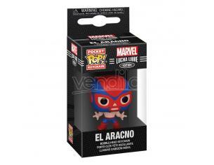 Marvel Luchadores Pocket Pop! Vinile Portachiavis 4 Cm Spider-man Display (12) Funko