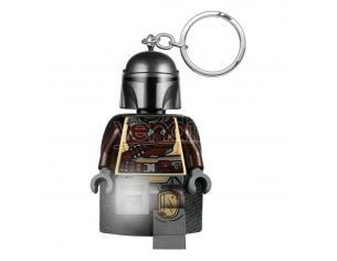 Lego Star Wars The Mandalorian Light-up Portachiavi Din Djarin 6 Cm Joy Toy