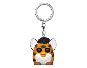 Furby Pocket Pop! Vinile Portachiavis 4 Cm Tiger Furby Display (12) Funko