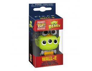 Pixar Pocket Pop! Vinile Portachiavis 4 Cm Alien As Wall-e Display (12) Funko