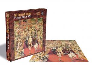 The Rolling Stones Rock Saws Jigsaw Puzzle It's Only Rock 'N Roll (500 Pieces) PHD Merchandise