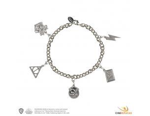 Harry Potter Ciondolo Braccialetto Symbols Cinereplicas