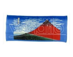 Ukiyo-e Telo Mare Asciugamano Katsushika Hokusai Kaifu 34 X 80 Cm Marushin