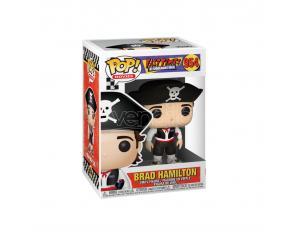 Fast Times At Ridgemont High Pop! Movies Vinile Figura Brad As Pirate 9 Cm Funko