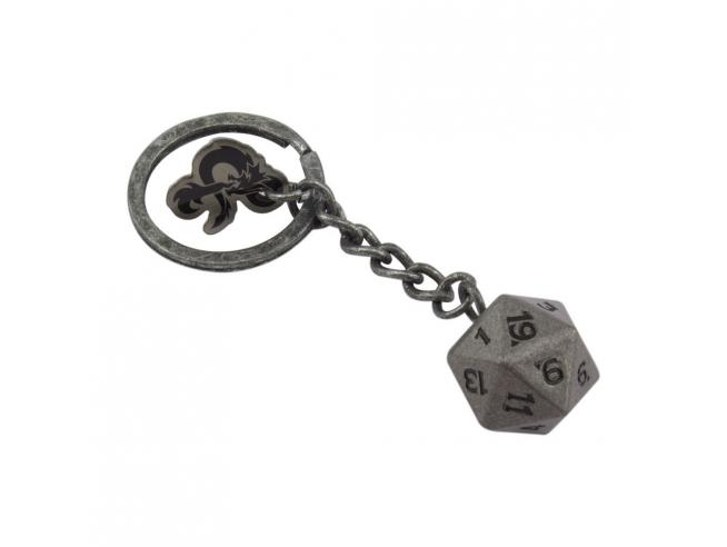 Dungeons & Dragons Metal Portachiavi D20 Paladone Products