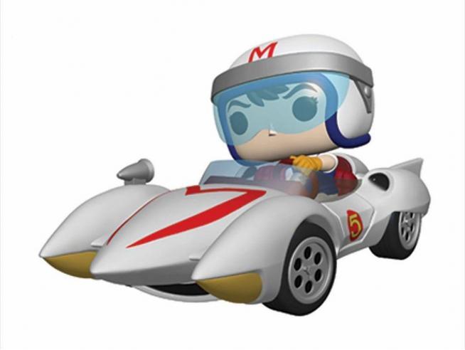 Speed Racer Pop! Rides Vinile Figura Speed W/mach 5 18 Cm Funko